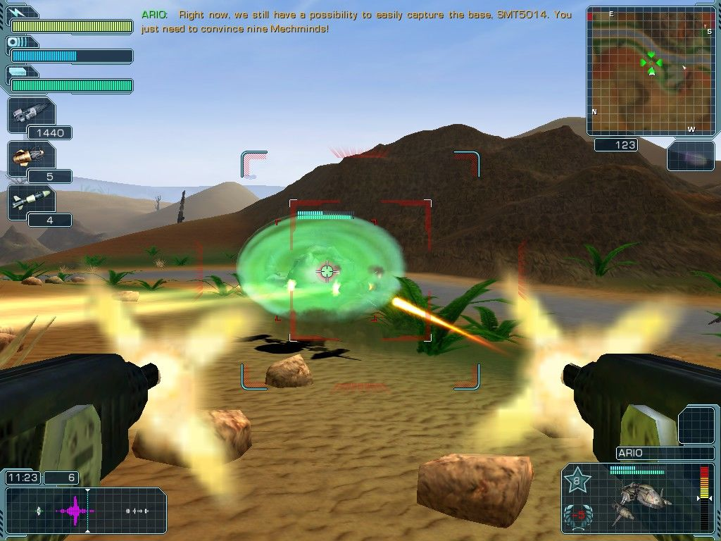 A.I.M. 2: Clan Wars Windows Close combat