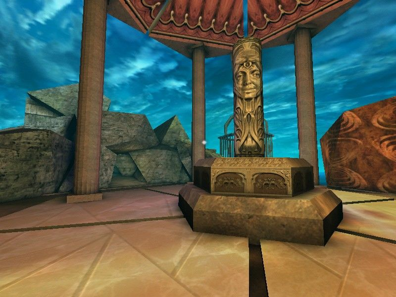 Auryn Quest Windows The Temple is the hub from which you will access the six worlds.