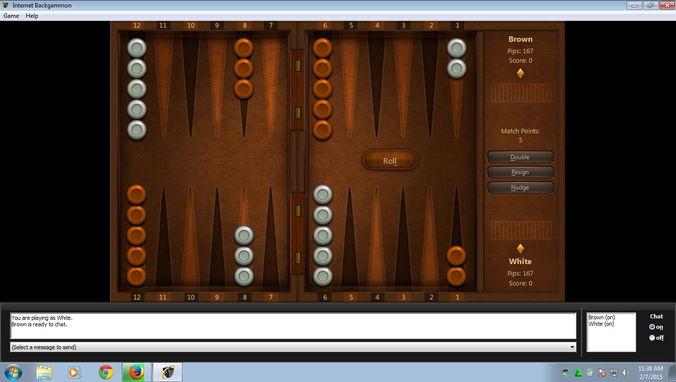 microsoft internet backgammon