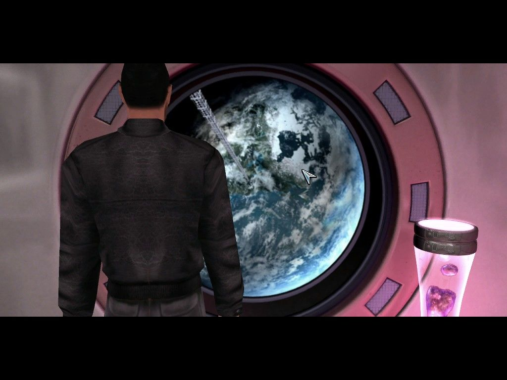 The Moment of Silence Windows Looking back at Earth