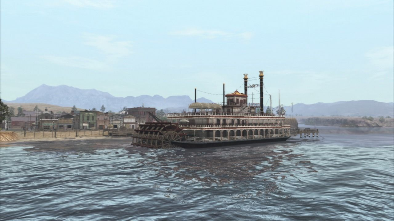 Red Dead Redemption PlayStation 3 A steamboat
