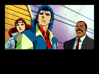 Policenauts SEGA Saturn Jonathan, Ed and Meryl are standing by.