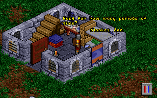 Pagan: Ultima VIII DOS A BED and a BLANKET, indeed! This means I can finally take a nap