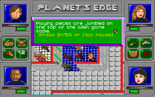 Planet's Edge: The Point of no Return Screenshots for DOS - MobyGames