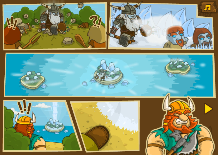 Frozen Islands Browser Story
