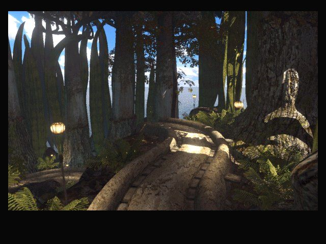 Riven: The Sequel to Myst Windows Jungle paths