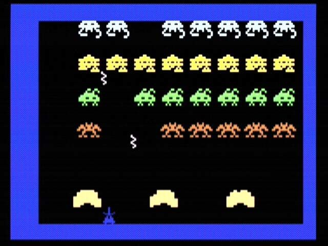 Intellivision Lives! Xbox Space Armada, basically a version of Space Invaders.