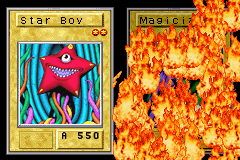 Yu-Gi-Oh! Reshef of Destruction Game Boy Advance If you attack your opponent's card with a more powerful card, you will destroy it