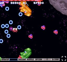 Parodius SNES Death of an Octopus!