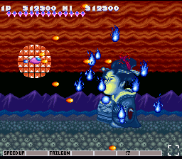 Parodius SNES A ghostly spirit of a boss
