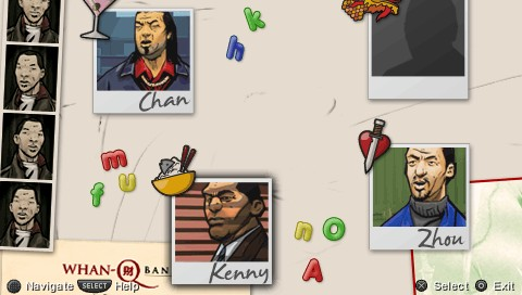 Grand Theft Auto: Chinatown Wars PSP Mission replay screen