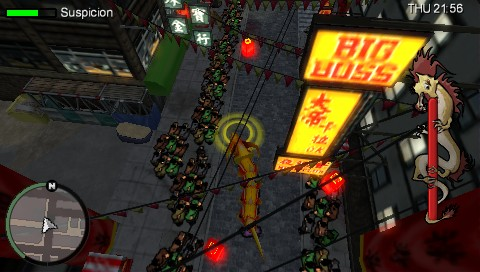 Grand Theft Auto: Chinatown Wars PSP Pretending to be a part of a carnival