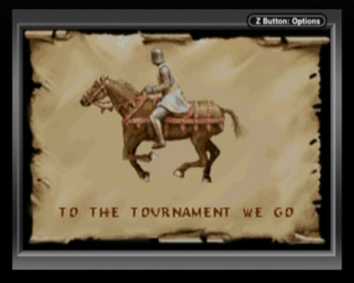 Defender of the Crown Game Boy Advance To the tournament we go.