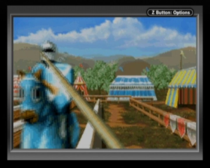 Defender of the Crown Game Boy Advance In jousting aim for the head if you wanna seriously humiliate your opponent and throw him off horse.