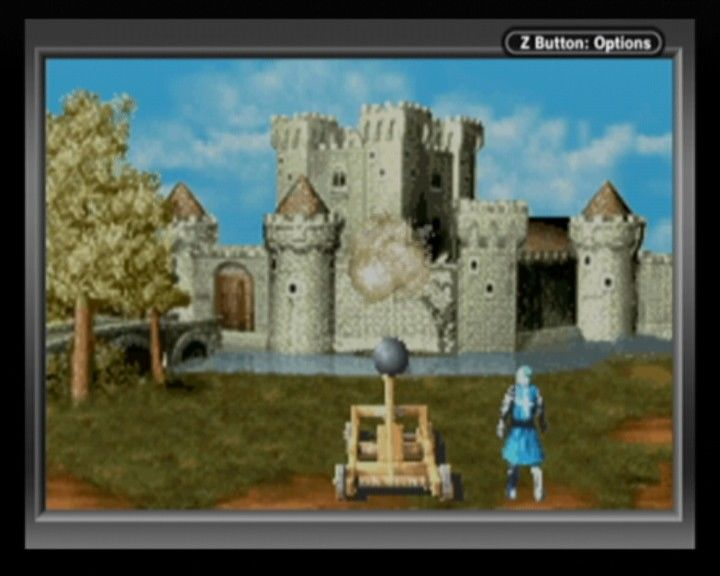 Defender of the Crown Game Boy Advance During castle siege, you'll have more things to thrown than just boulders.