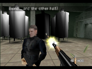 GoldenEye 007 Nintendo 64 A few scenes play out with real-time dialogue accompanying the action