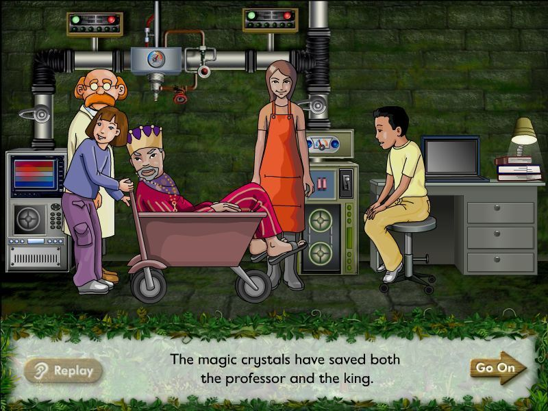Crystal Rain Forest V2 Windows Good news!<br>The king is cured by the magic crystal medicine