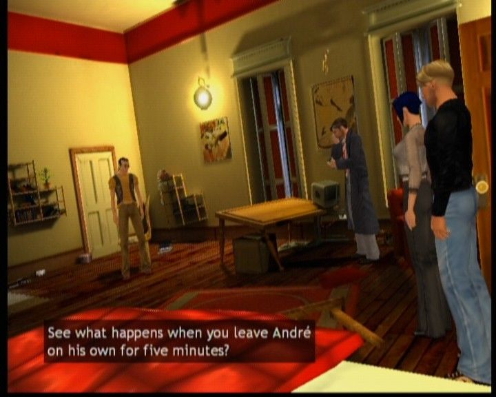 Broken Sword: The Sleeping Dragon Xbox Aside from the main heroes, there'll be other recurring characters.
