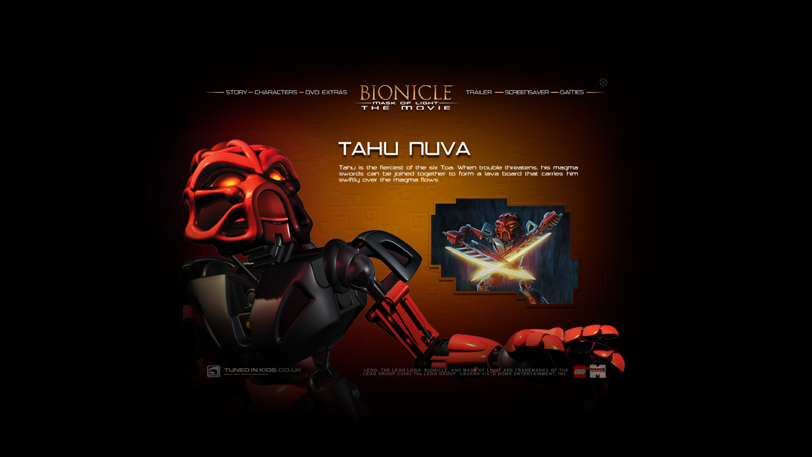BIONICLE: Mask of Light Promo CD 1
