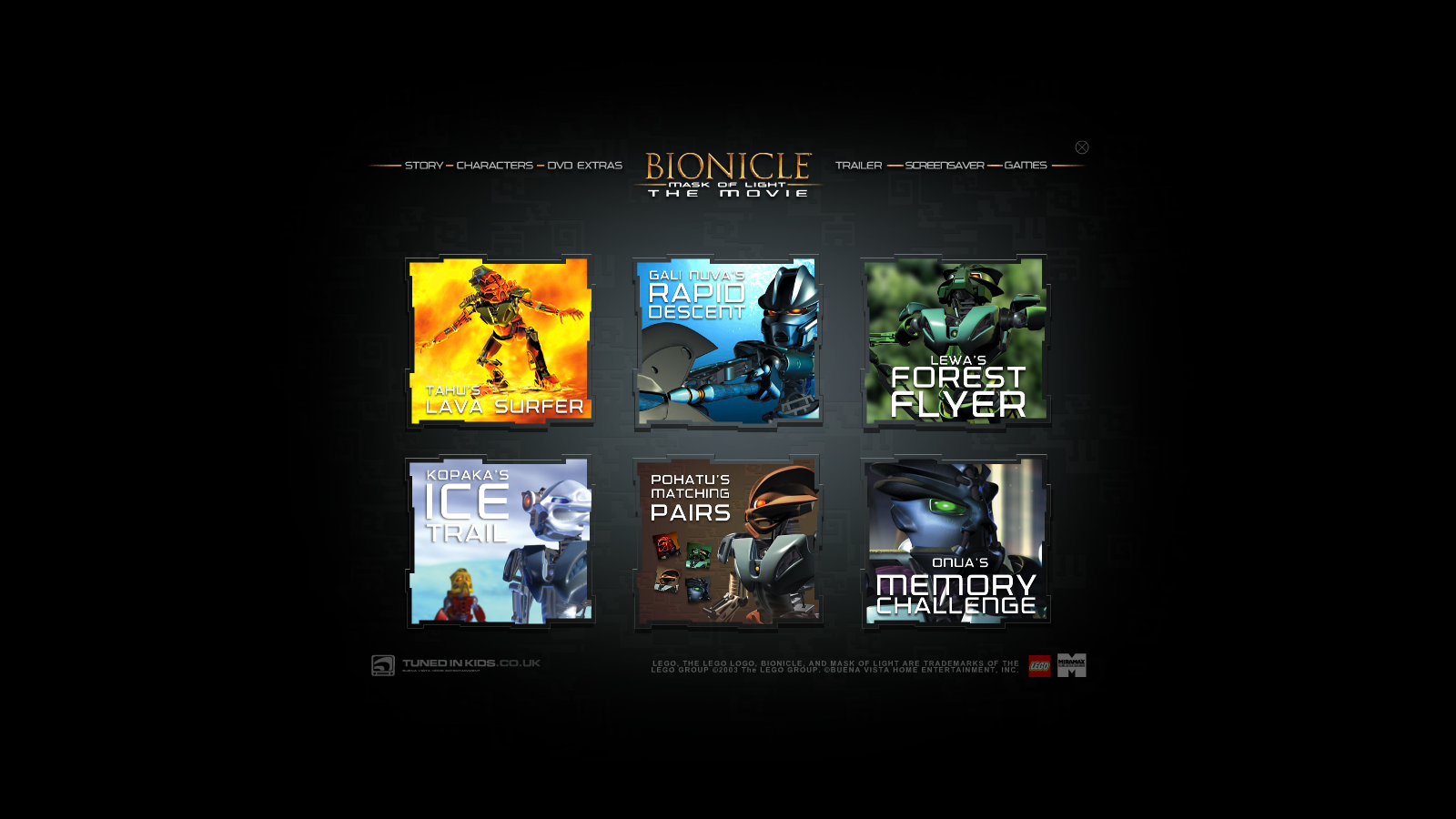 BIONICLE: Mask of Light Promo CD 0