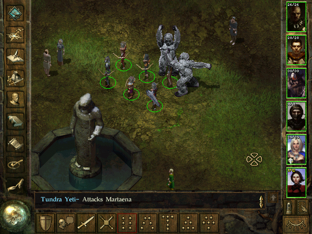 Icewind Dale Windows Kuldahar is the only peaceful settlement you'll be returning to in this game. And even there you might encounter yetis who have clearly been to gym