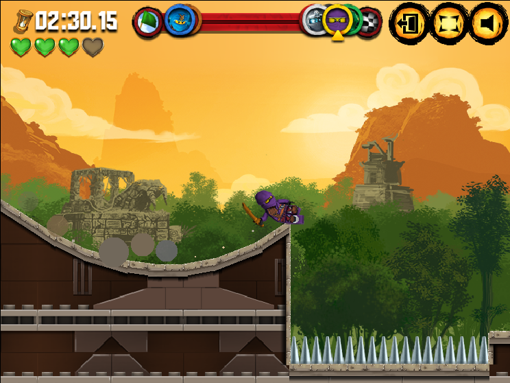 LEGO Ninjago: Ninjago Rush Screenshots for Browser - MobyGames