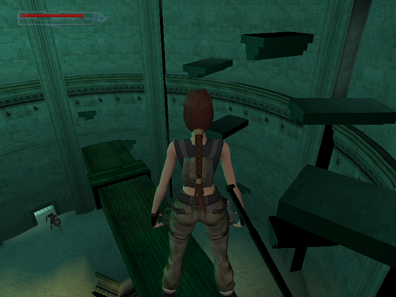 Lara Croft Tomb Raider: The Angel of Darkness Windows Careful jumping to and from platforms! Save..save..save