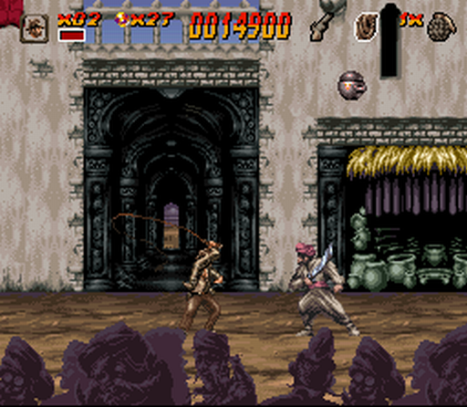 Indiana Jones' Greatest Adventures SNES Cairo