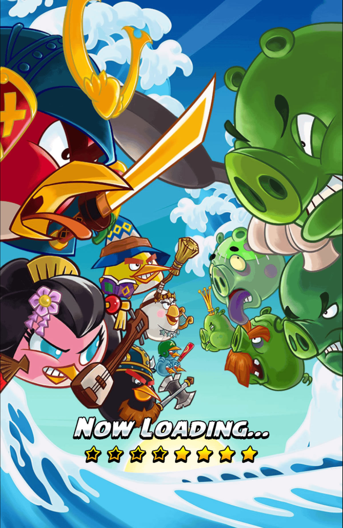Angry Birds: Fight! Android Loading screen