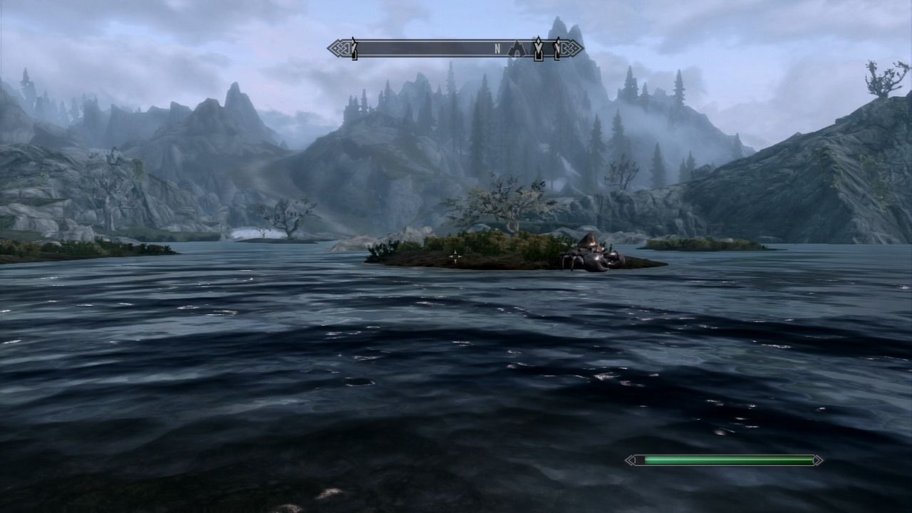 The Elder Scrolls V: Skyrim PlayStation 3 Watch out for mudcrabs which look like rocks when not moving