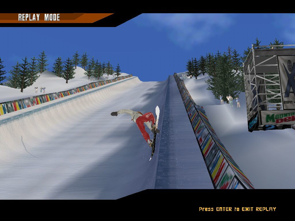 X-Games: Pro Boarder Windows Replay