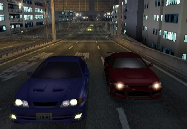 Tokyo Xtreme Racer 3 PlayStation 2 Chaser vs S15