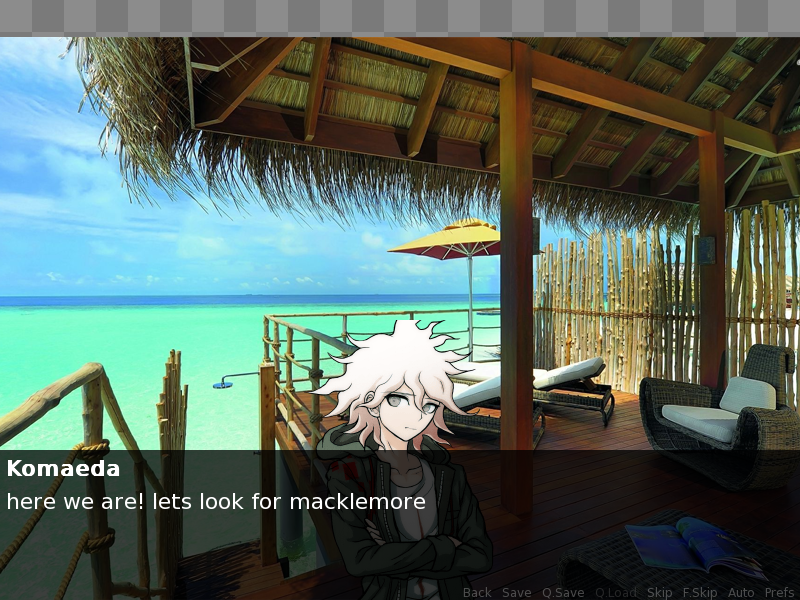 Komaeda dating sim