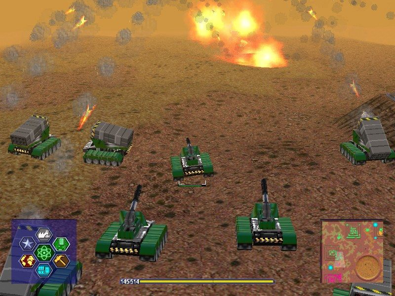 Warzone 2100 Windows My artillery is attacking a distant enemy