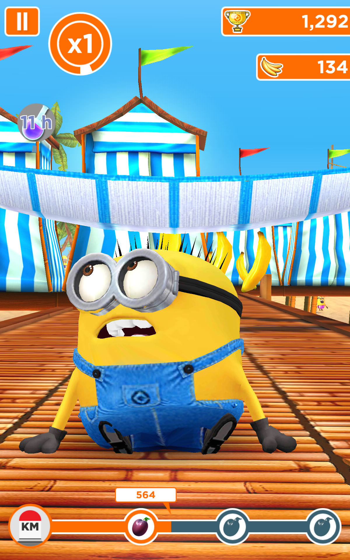 Despicable Me: Minion Rush  mod apk android, pc et ios