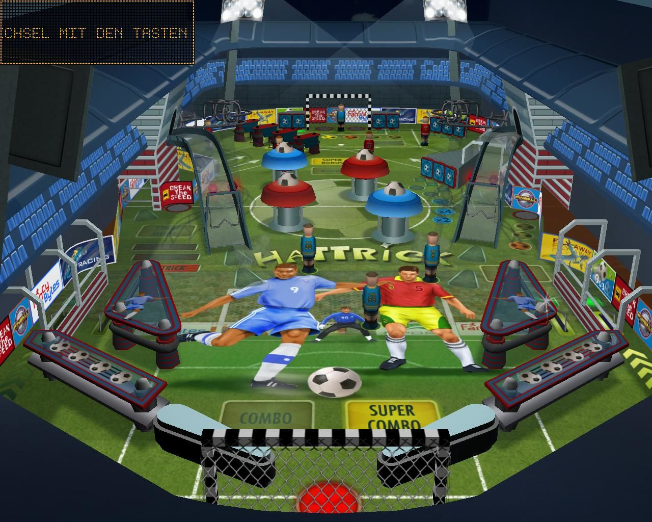 Pinball: Fussball Edition 2006 Windows table Hattrick