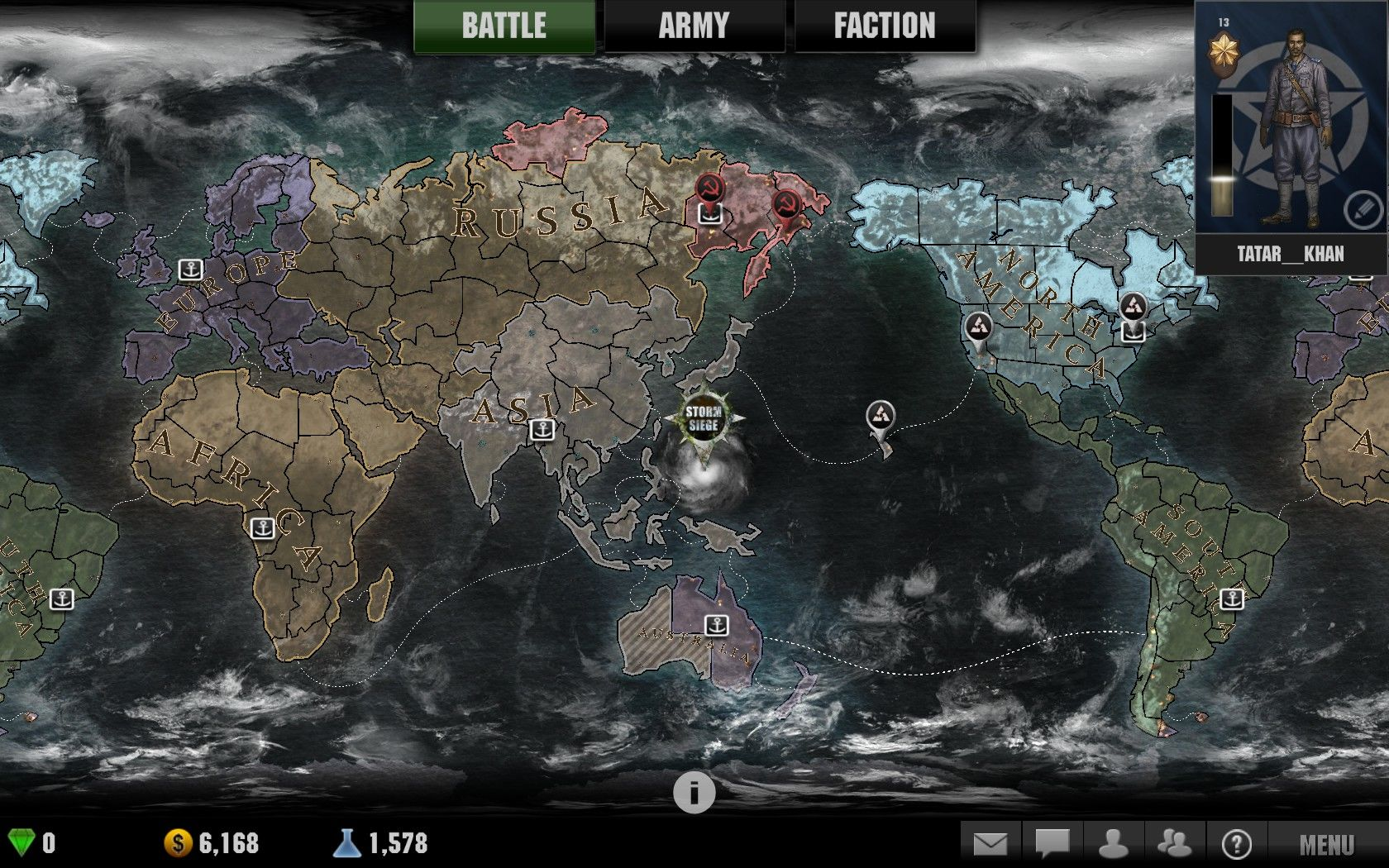 March of war stormsiege screenshots for windows mobygames large pin on world map selecting which will start stormsiege campaign it appears even if dlc content is not installed clicking it will download dlc gumiabroncs Images