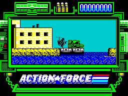 Action Force ZX Spectrum - can you please get out of the way sir?
