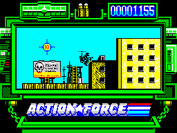 Action Force ZX Spectrum Why am I thinking about Godzilla and King Kong, pardon, about Trolliza and Song Long?