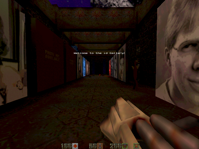 Quake II Windows A little secret before you leave the exploding Makron-base