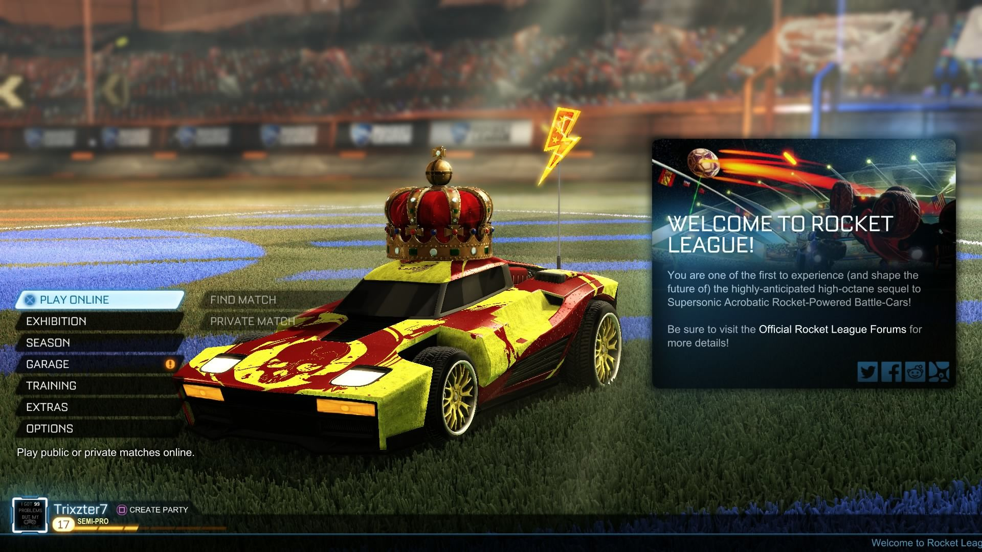 What S The Best Car To Use In Rocket League