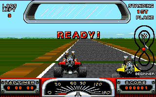 Road Riot 4WD Atari ST Start
