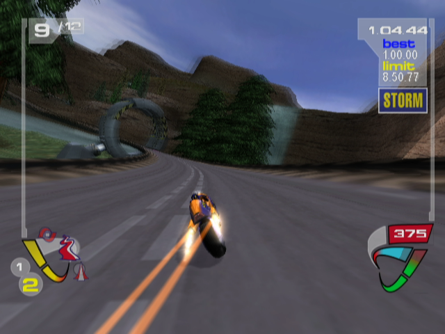 XGIII: Extreme G Racing GameCube This game uses motion blur. A lot.
