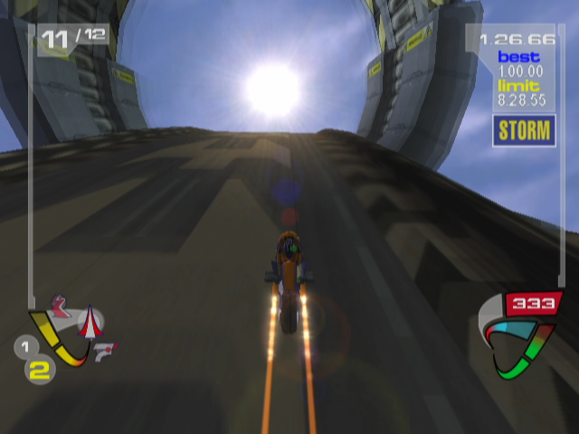XGIII: Extreme G Racing GameCube Lens Flare