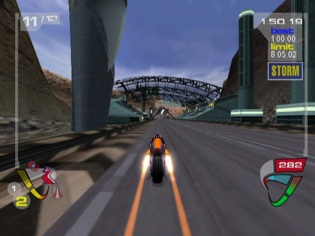 XGIII: Extreme G Racing GameCube Nearing the Finish