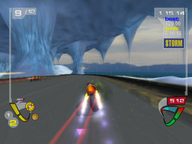 XGIII: Extreme G Racing GameCube The Ice Cave