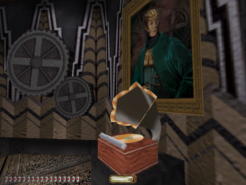 Thief II: The Metal Age Windows Look, this is a gramophone! It's working, too!..