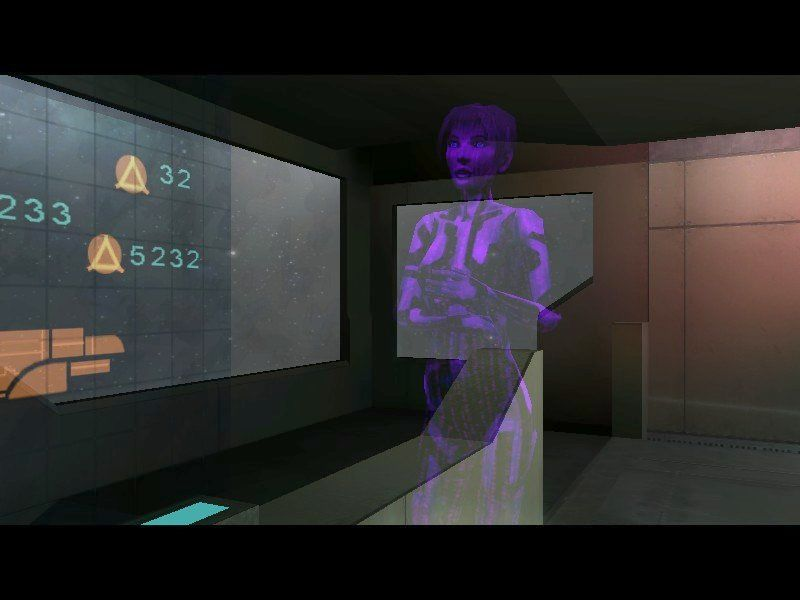 Halo: Combat Evolved Windows Cortana is your ship's AI, travelling companion, and mission director.