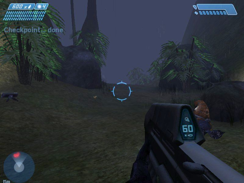 Halo: Combat Evolved Windows Checkpoint save locations are there to remind you of Halo's console heritage.