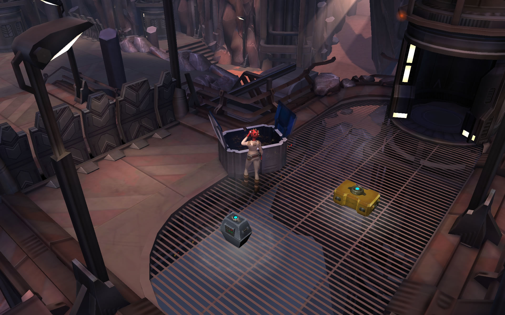 Star Wars: Uprising Android Pinch to zoom in.